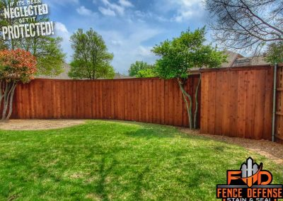 Fence Staining Frisco Texas Leatherwood Stain Color
