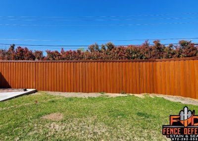 Frisco Texas Sierra Fence Stain