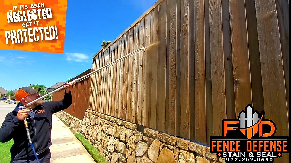 Professional Fence Staining Company