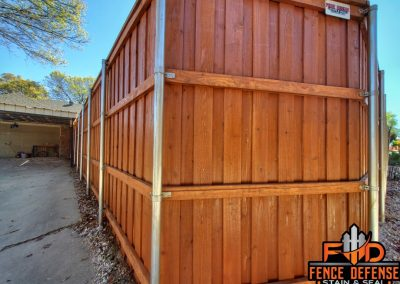 Sierra Fence Stain Frisco Texas